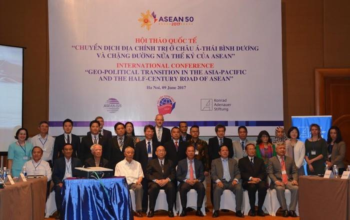 'Mười nước ASEAN mà chụm lại thì ngọn núi sẽ rất cao'