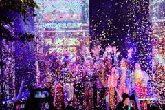 Cư dân Ecopark mãn nhãn với màn pháo hoa đón năm mới