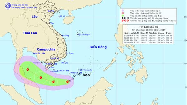 Dự báo thời tiết 2/1: Hà Nội rét cắt da, bão số 1 áp sát Cà Mau