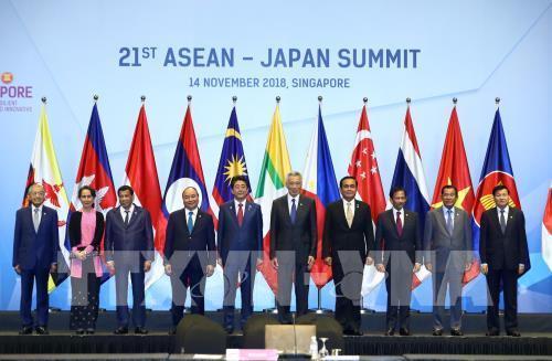 """ASEAN-Nhật Bản: Tăng cường thúc đẩy """"quan hệ hợp tác"""""""