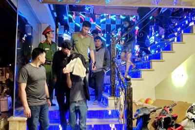 61 thanh niên mở 'tiệc ma túy' đón chào năm mới