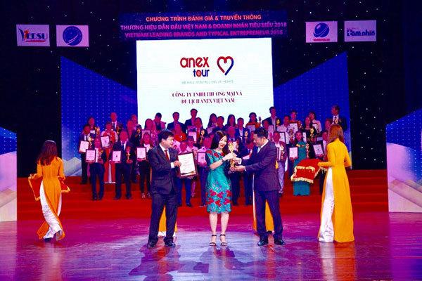 Anex Việt Nam nhận giải Thương hiệu dẫn đầu