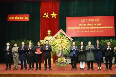 Bí thư Hà Tĩnh nói về hợp nhất 3 văn phòng cấp tỉnh