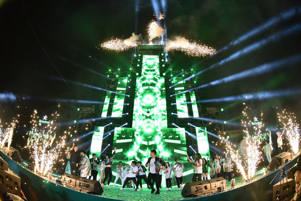 Heineken Countdownlần đầu đổ bộ đất Cảng,hoành tráng không ngờ