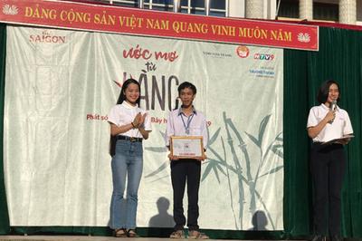 11 suất học bổng Ước mơ từ làng cho HS nghèo miền Trung