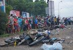 Tai nạn 4 người chết ở Long An: 'Xe container quét người và xe như sóng thần'