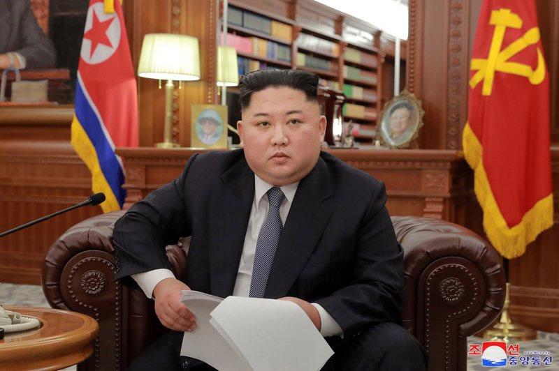 Kim Jong Un,Triều Tiên,Mỹ,phi hạt nhân hóa,Donald Trump,Lầu Năm Góc,Năm mới