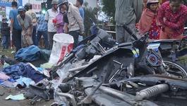 Xe container tông 4 người chết ở Long An: Danh tính các nạn nhân