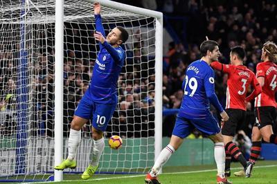 Hazard và Morata bất lực, Chelsea bị Southampton cưa điểm