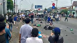 Tài xế xe container dự tân gia, uống nhiều rượu trước khi tông chết 4 người?