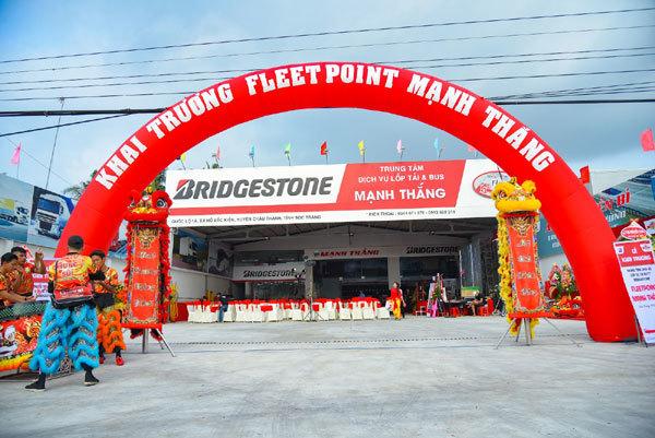 Bridgestone mở rộng dịch vụ chăm sóc lốp xe ở miền Tây