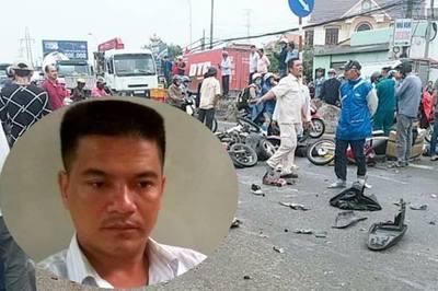 Tài xế container tông chết người ở Long An không thừa nhận dùng heroin