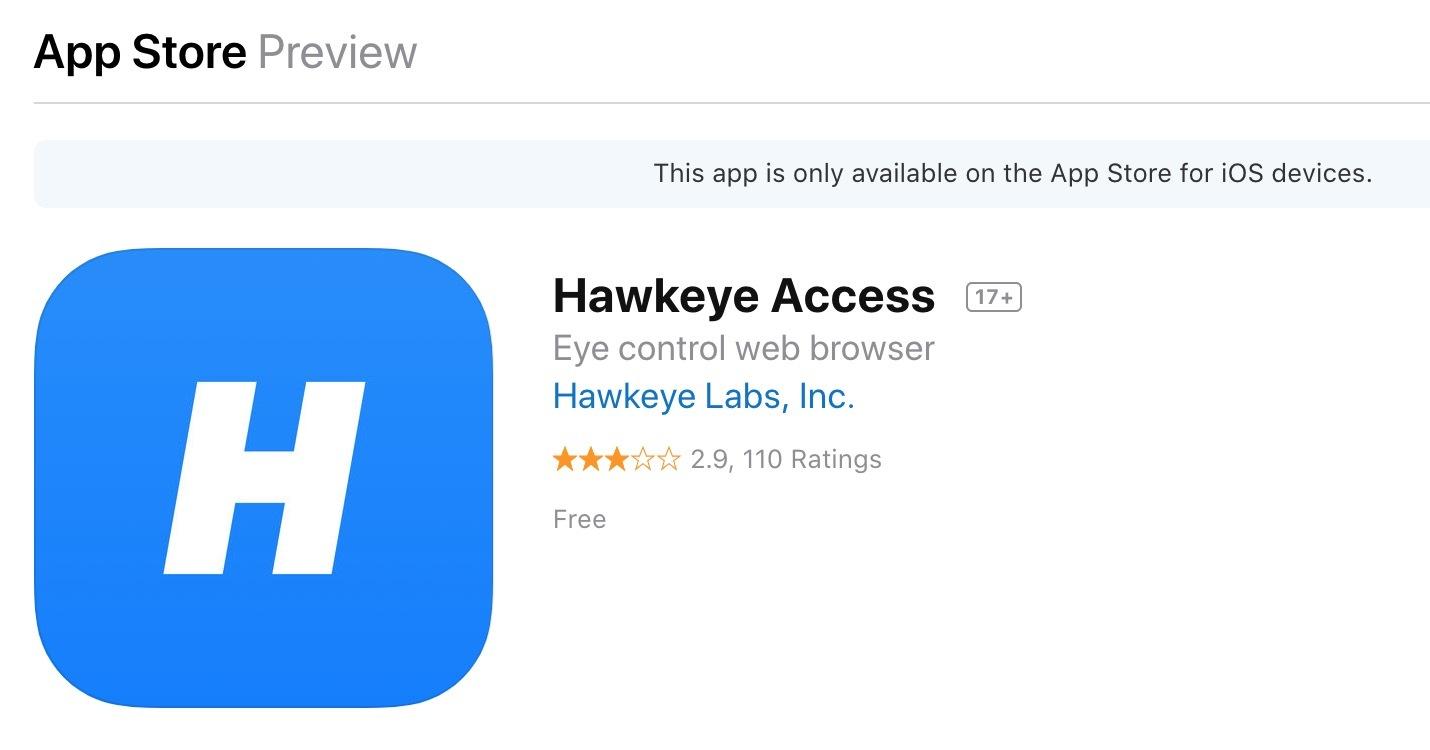 Ứng dụng 'siêu dị' giúp điều khiển iPhone, iPad bằng mắt