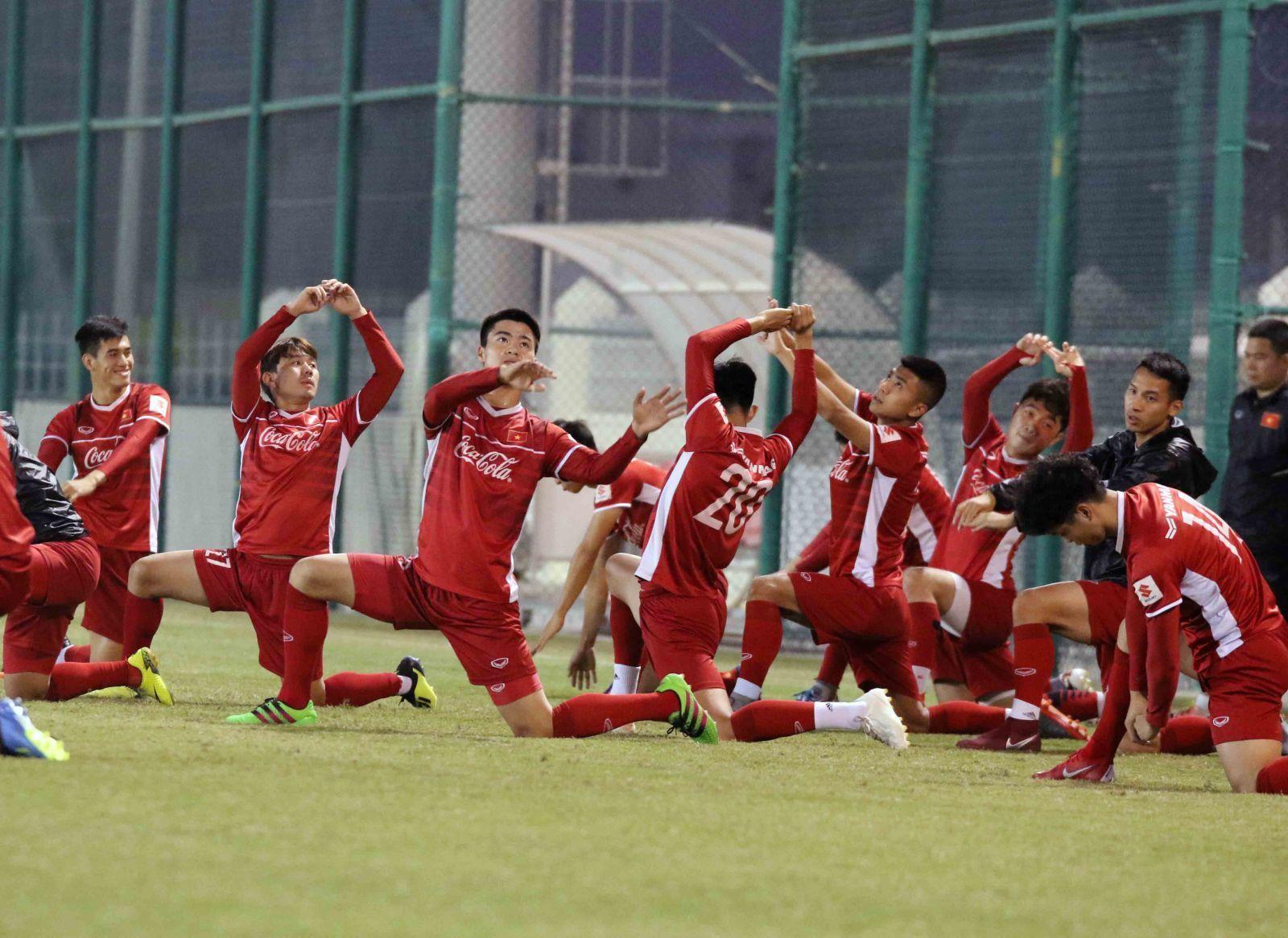 HLV Park Hang Seo: 'Việt Nam quyết tâm vượt qua vòng bảng Asian Cup'