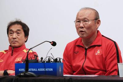 """HLV Park Hang Seo: """"Việt Nam quyết tâm vượt qua vòng bảng Asian Cup"""""""