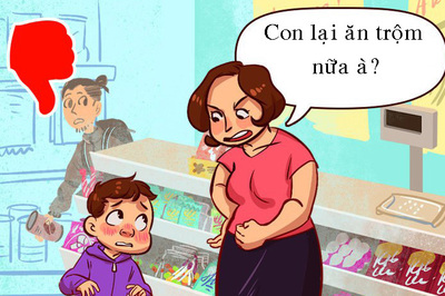 9 cách phạt không gây tổn thương lòng tự trọng của con trẻ