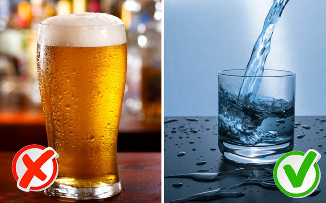 hôi miệng,thực phẩm,uống bia,uống rượu