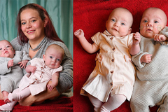 Bà mẹ gây sốc cho lịch sử y học khi sinh con đôi nhưng cách nhau 12 ngày