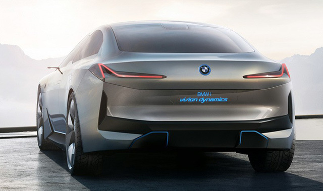 BMW lên kế hoạch ra siêu xe chạy điện thách thức McLaren 570S