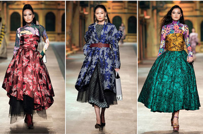 H'Hen Niê, Võ Hoàng Yến nổi bật với set đồ từ lụa, gấm