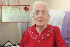 Bất ngờ nhận được thư tình của hôn phu mất tích 77 năm trước