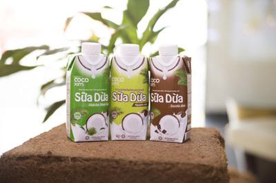 Betrimex ra mắt thêm 2 vị sữa dừa Cocoxim