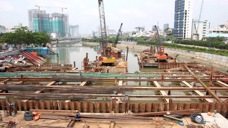 dự án chống ngập,chống ngập,TP.HCM,ngập lụt,đất công