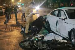 Vụ xe máy tông Audi khiến thiếu nữ mất mạng: Triệu tập 4 'quái xế'