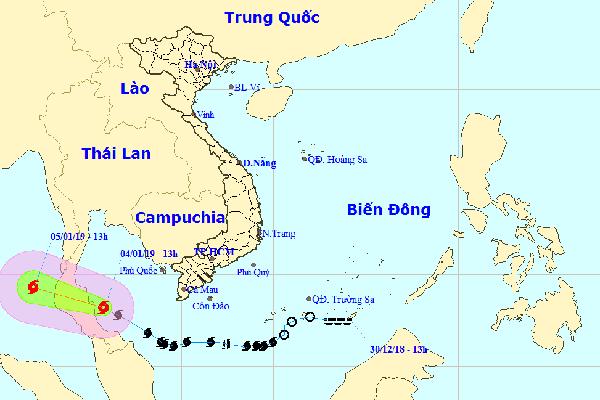 Bão số 1 tăng cấp, các tỉnh Nam Bộ ngập nặng