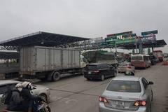Hải Phòng: Ùn tắc ngày đầu thu phí, BOT Tiên Cựu phải xả trạm