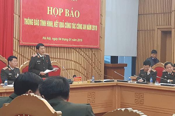 Bộ Công an,Lương Tam Quang,Thứ trưởng Công an,Bùi Văn Nam