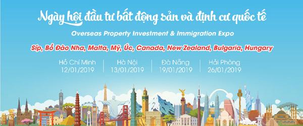Ngày hội đầu tư bất động sản và định cư quốc tế