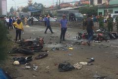 Xe container tông 4 người chết: Xử lái xe mới là 'phần nổi tảng băng'