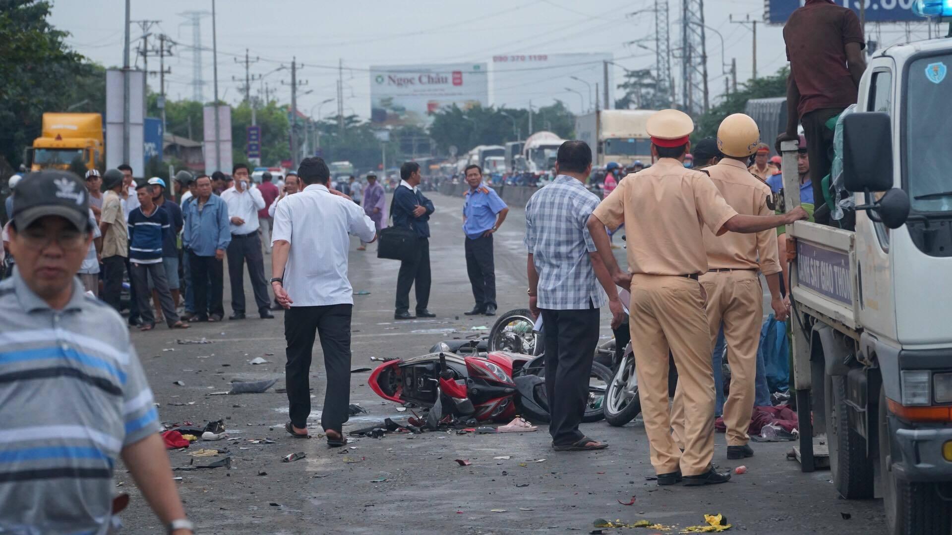 Tai nạn giao thông,An toàn giao thông,Xe container,Khuất Việt Hùng