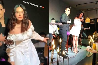 Phạm Quỳnh Anh ngừng hát hốt hoảng tìm con gái