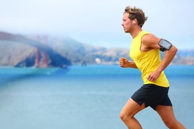 chạy bộ,dương vật,tinh hoàn,sức khỏe tình dục