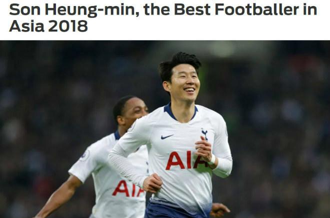Quang Hải lọt Top 15, Son Heung-min hay nhất châu Á 2018