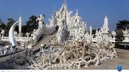 Vẻ đẹp độc nhất vô nhị của chùa Trắng ở Thái Lan