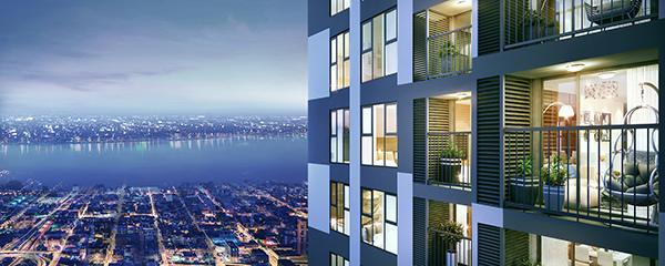 Vì sao căn hộ tầm nhìn trung tâm hút khách?