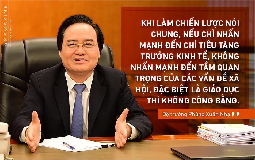 Bộ trưởng Phùng Xuân Nhạ,đổi mới giáo dục,chương trình phổ thông tổng thể,giáo dục đại học