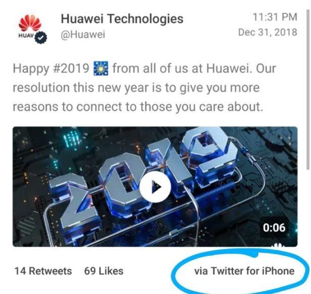 Huawei hạ cấp, trừ lương admin fanpage vì đăng tin bằng iPhone