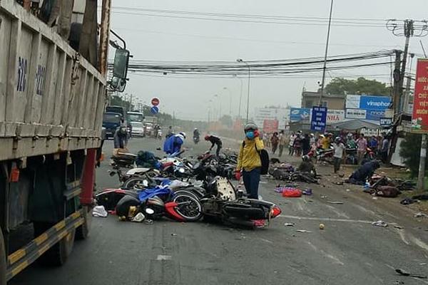 tai nạn chết người,tai nạn giao thông,Long An
