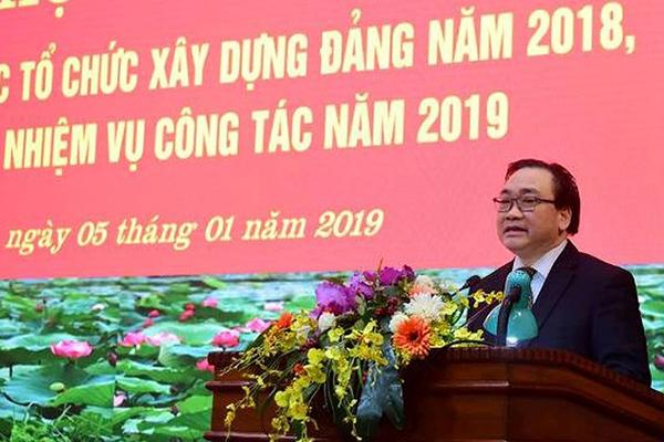 Bí thư Hà Nội,Hoàng Trung Hải,nhân sự,Đại hội 13