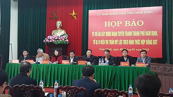 BOT,Nam Định,trạm thu phí