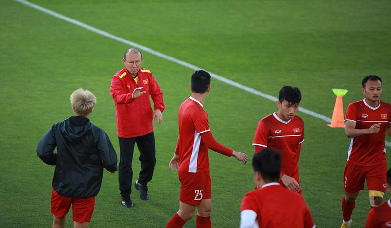 HLV Park Hang Seo: 'Việt Nam phải giữ sạch lưới trước Iraq'
