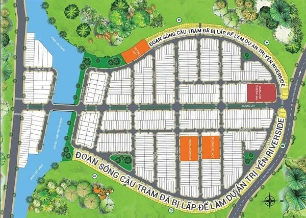 Khu dân cư Long Thượng,Long Thượng Riverside,Trị Yên Riverside,Long An,Sở Xây dựng,lấp sông