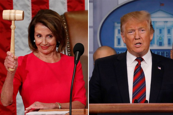 Mỹ,Donald Trump,Nancy Pelosi,tỉ lệ tín nhiệm,thăm dò dư luận