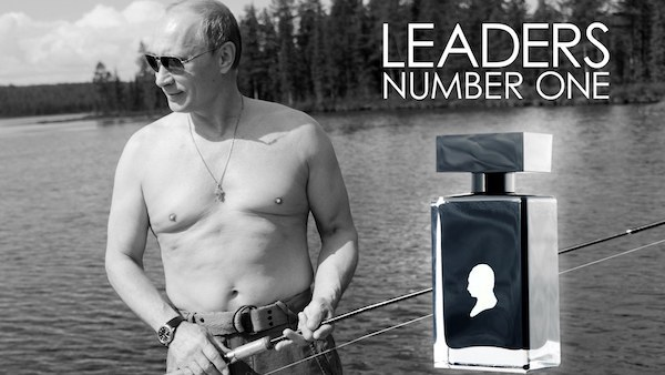 nước hoa,Tổng thống Putin