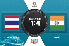 Link xem trực tiếp Thái Lan vs Ấn Độ, 20h30 ngày 6/1