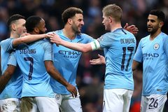 Man City đại thắng 7-0 ở vòng 3 FA Cup